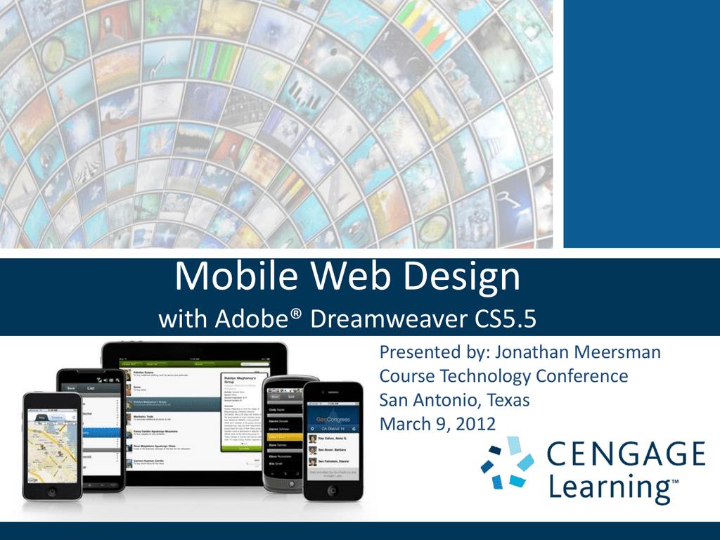 Mobile Web Design With Adobe Dreamweaver
