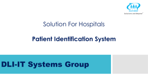 Patient Identification System - DLI-IT