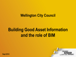 Building Good Asset Information and the role of BIM