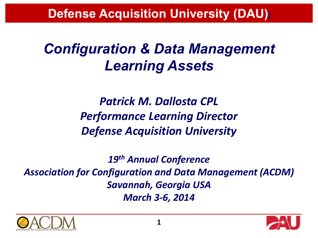 Defense acquisition university dau 1betcityfo Gallery