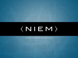 What is NIEM? - Australian Federal Police