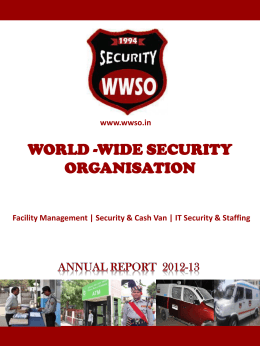 to - World Wide Security Organization