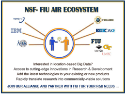 NSF PFI-AIR - NSF Industry/University Cooperative Research