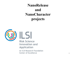 NanoRelease and NanoCharacter Projects