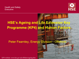 (KP4) and Human Factors – Peter Fearnley