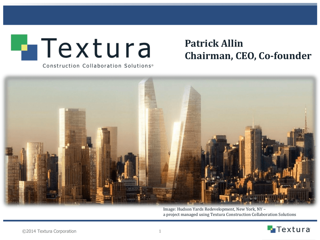 Textura Solutions - Textura Corporation