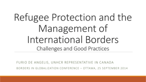 Refugee Protection and the Management of International Borders