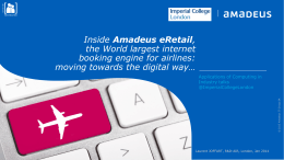 ImperialCollegeLondon_talk Amadeus eRetail_Jan2014