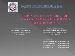 DESIGN AND DEVELOPMENT OF LOW COST ARM