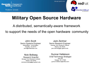 Military Open Source Hardware - Mil-OSS