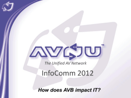 AVnu Alliance Template