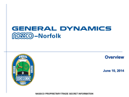 NASSCO-Norfolk Overview 14-Jun-14