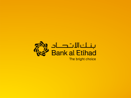 Bank al Etihad SME GLJC Conference final
