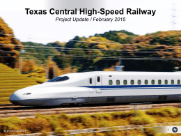 Texas Central High-Speed Railway Project
