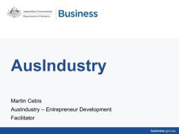 Carnarvon Business Development Presentation