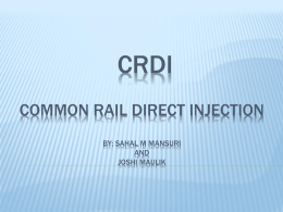 crdi common rail direct injection
