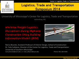 Building Information Models for Highway Construction to address