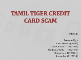 tamil tiger credit card scam spreads to chennai, india