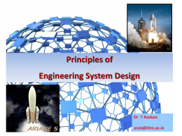 Originating Requirements: Example System Engineering
