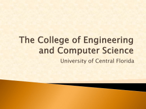 The College of Engineering and Computer Science