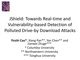 JShield: Towards Real-time and Vulnerability-based