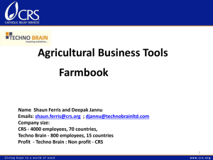 Agricultural Business Tools - Farmbook