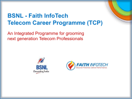 Telecom Career Program