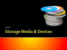 Storage Media & Devices