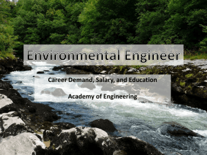 Environmental Engineering PowerPoint