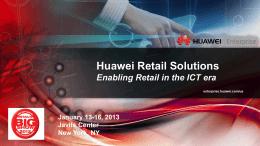 Solutions - Huawei Enterprise