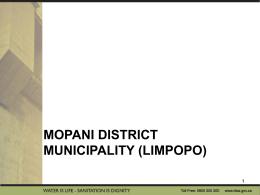 Mopani District Municipality (Limpopo)