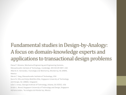 Fundamental studies in Design-by-Analogy: A focus on