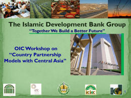 IDB Group_presentation_comcec_workshop