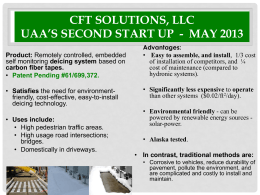 CFT Solutions, LLC Newest Start up - may 2013