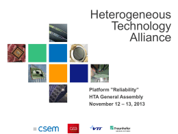Platform - Heterogeneous Technology Alliance