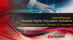 Huawei Education Solutions Vision
