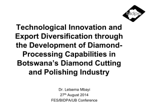 Technological Innovation and Export Diversification - FES