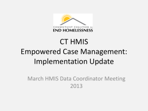 Empowered Case Management Update