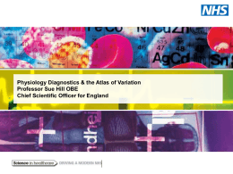 Physiology Diagnostics & the Atlas of Variation