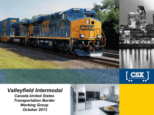 Valleyfield Intermodal