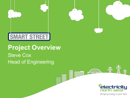 Smart Street overview presentation