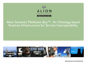 Semantic Mediation Bus