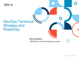 DevOps TechStrategy Roadmap 3_10_14