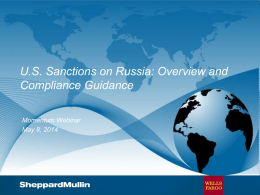 Russia PPT (8 May 2014)