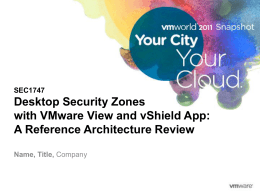 vShield App - Amazon Web Services