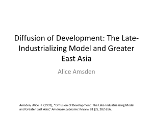 Late Industrialization