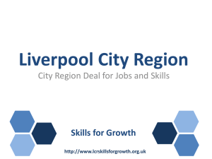 Liverpool City Region Deal