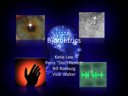 Biometrics - Wikispaces