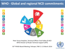 PIHOA NCD Presentation 6.27 MB | Posted 17 Jul 2014