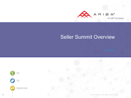 Seller Summit Lead